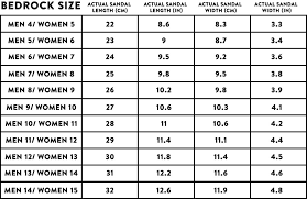 Printable Foot Width Chart Classic Sandals