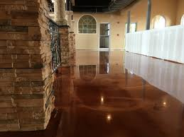 Poured Concrete Kitchen Floor Decorative Concrete Of Virginia Stained Concrete Stamped