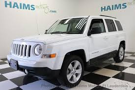 2017 jeep patriot seat covers 2017 used jeep patriot latitude fwd at haims motors serving fort