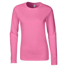 <b>GILDAN</b> Ladies Soft Style Long <b>Sleeve T</b>-<b>Shirt</b>: Amazon.co.uk ...