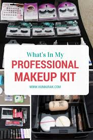 what s in my professional makeup kit all the things a professional beginner makeup artist needs to start their kit