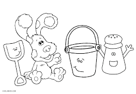 Blues Clues Notebook Coloring Page Blues Clues Magenta Coloring