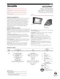 Juno Lighting Phone Number Accupak Juno Lighting Group