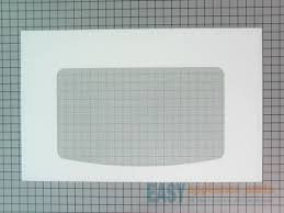 ge wb57k10110 outer oven door glass