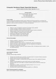 Computer Repair Resume Eezeecommerce Com