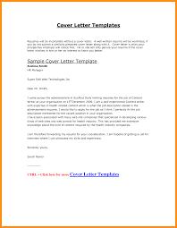 6 Cv Cover Letter Sample Doc Fillin Resume Sample Cover Letter