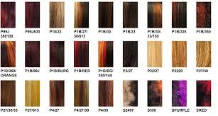 Its A Wig Color Charts