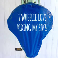 wheelie love bike seat rain cover