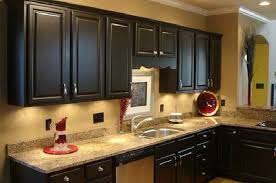 brown painted kitchen cabinets. Wonderful Chocolate Brown Painted Kitchen Cabinets Painting  Brown Painted Kitchen Cabinets C