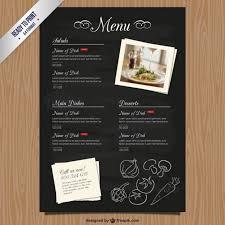 Restaurant Menu Format Free Top 31 Free Psd Restaurant Menu Templates 2018 Simplefreethemes