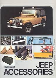 Best selling price low to high price high to low. Jeep Accessories Brochure 1983 En Veikl