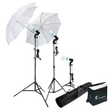 com photography photo portrait studio 600w day light umbrella continuous lighting kit by limostudio lms103 photographic lighting umbrellas