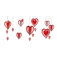 Valentine decorations for office Soft Board 3d Foil Heart Decorations 16ct Horiaco Valentines Day Party Supplies Party City