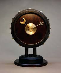 unique desks clocks the steampunk modern desk clock entirely hand made from the base to the