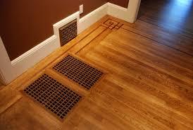 hardwood floors build in flash heater covers