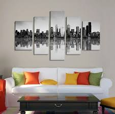large wall art seattle canvas print seattle city landscape with perfect reflection of buildings on on seattle wall art prints with large wall art seattle canvas print seattle city landscape with