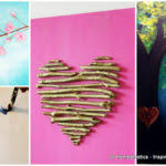 painting canvas ideasCanvas Painting Ideas Projects Homesthetics Inspiring  Tierra