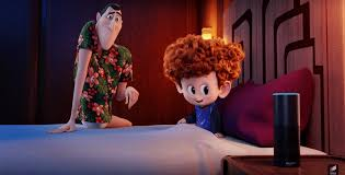 Hotel transylvania 3 involves the character of dracula and other monsters he knows in his life going on a cruise trip that is meant to help lift his spirits. Let Amazon Alexa Tell You Bedtime Stories Voiced By The Cast Of Hotel Transylvania 3 Summer Vacation