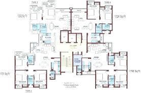 apartment complex floor plans multi unit house plans housing floor family residential apartment building beach large