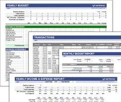 030 Budget Worksheet Vertex42 Simple Beautiful 5starproduction