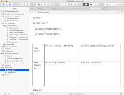 Sg Template Using Scrivener With Story Genius