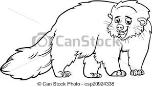 Small Picture Binturong Animal Coloring Pages Binturong Bearcat nebulosabarcom