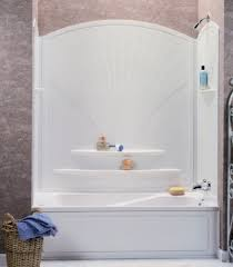decora 63 white tub wall surround by maax
