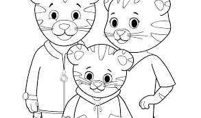 Unthinkable Daniel Tiger Coloring Pages Printable Free Color