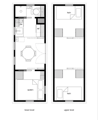 Small Picture 21 Tiny House Floor Plans And Designs 10 By40 Free Tiny House