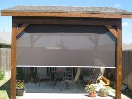 custom patio blinds. Outdoor Patio Blinds Shades Custom A