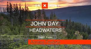 john day headwaters public access elk network