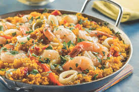 Quinoa Seafood Paella - From