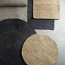hemp rugs for natural touch in decoration
