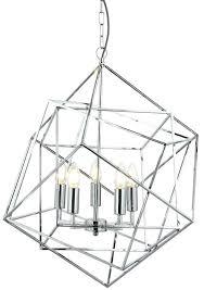 geometric ceiling light cube 5 light geometric pendant ceiling light polished chrome geometric ceiling light modern minimalist cube