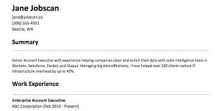 Resume Profile Section Www Sailafrica Org