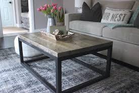 diy industrial coffee table home design