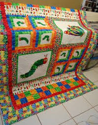 The Very Hungry Caterpillar Quilt: Rose.....get on it! Lol not ... & The Very hungry caterpillar quilt Adamdwight.com