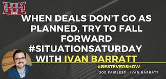 JF1376: When Deals Don't Go As Planned, Try To Fall Forward  #SituationSaturday with Ivan Barratt - Joe Fairless