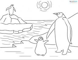 Small Picture Printable Penguin Coloring Sheets and Facts for Kids LoveToKnow