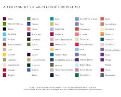 Alfred Angelo Colour Chart Alfred Angelo Color Swatches Wedding Colors Bridesmaid