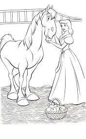 Cinderella Coloring Pages Wow Com Image