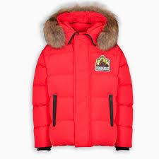 Red Arcticaten Down Jacket