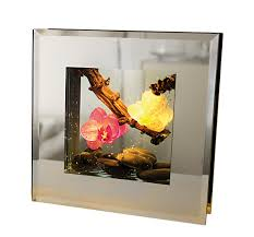 Lighting Frames Led Frame Frames Medium Bahia Pink Warm White Light Including 2 Button Cells 20x20 Cm
