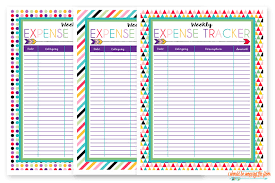 Free Expense Tracker Printable I Should Be Mopping The Floor