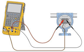 documenting process calibrators that you helped design fluke 754 connected to hart instrumentation