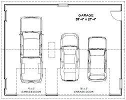 Garage  Garage Plans 4 Car Garage Designs Garage Overhang Plans 4 Car Garage Size