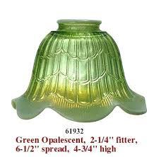 2 1 4 fitter glass shade clear inch bridge lamp