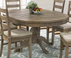 Amazoncom Round To Oval Dining Table In Brown Tables