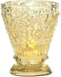 gold glass candle holders gold mercury glass pillar candle holders uk