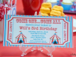Carnival Birthday Invitations Ultimate List 100 Carnival Theme Party Ideas By A